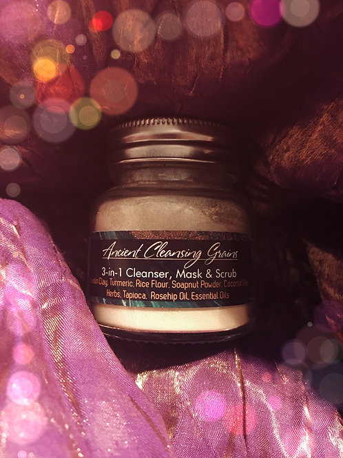 Ancient Cleansing Grains | 3- in-1 Cleanser