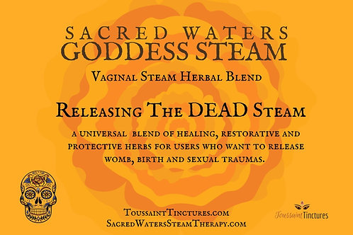 Releasing the Dead | PURGE Goddess Steam & Tea Blend | Vaginal Steam
