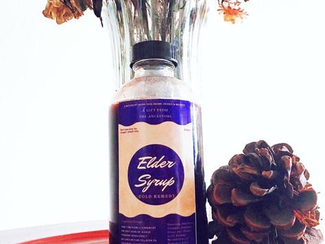 Elder(berry)  Syrup