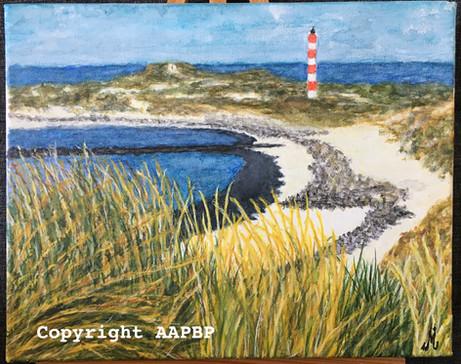090 phare de Berck dominant la baie d'Aut