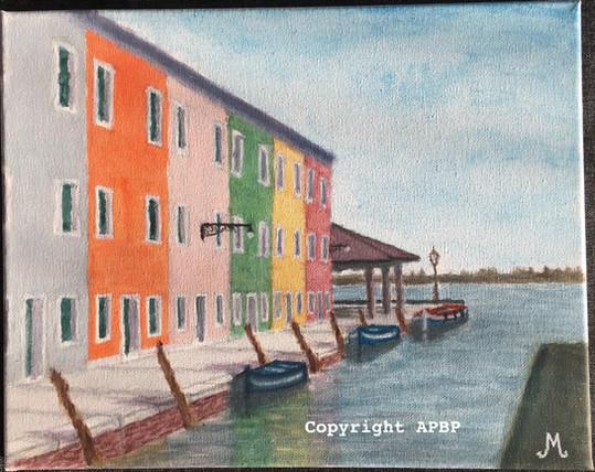 094 Façades colorées à Venise