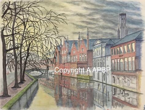 116 fin de journée à Bruges