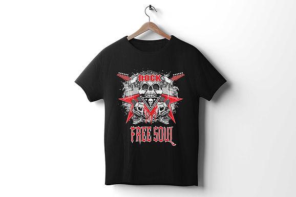 Unisex Tri-Blend Track Shirt | Rock N Roll | Free Soul