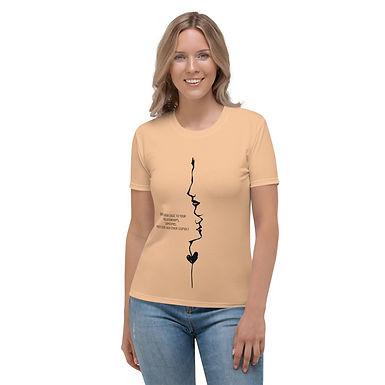 Women's T-shirt | Don't enter logic to your Relationships