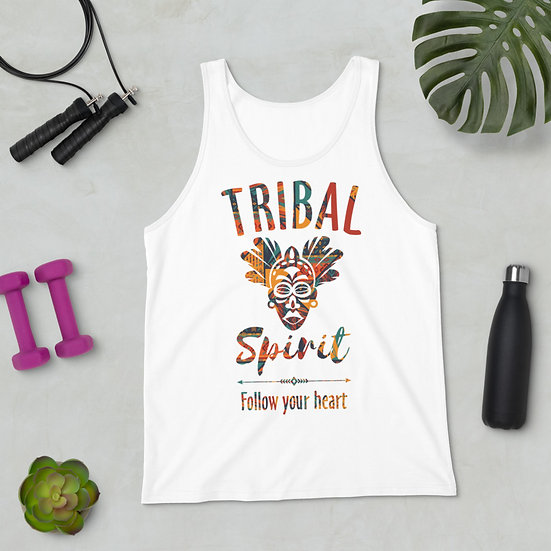 Unisex Tank Top | Tribal Spirit