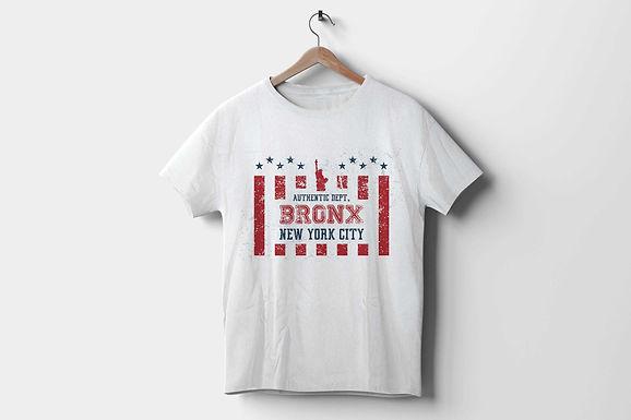Short-Sleeve Unisex T-Shirt   Bronx Authentic Dept   New York City