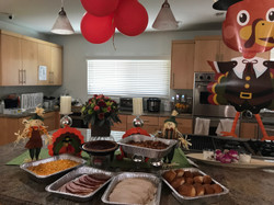 All the Thanksgiving fixings!