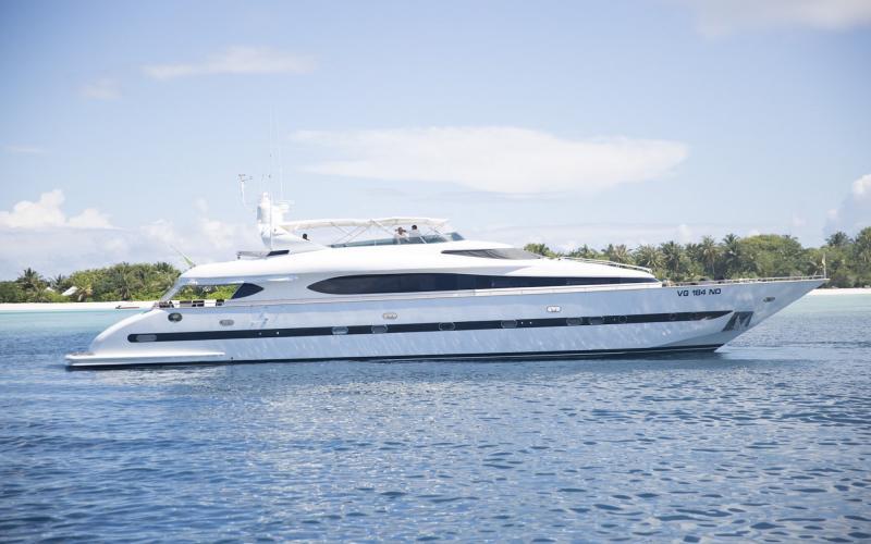 SEA JAGUAR Maledives Charter