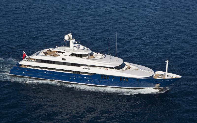 M/Y SARAH Charter Mediterranean