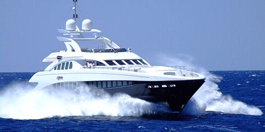 Heesen Yacht Charter Mediterranean