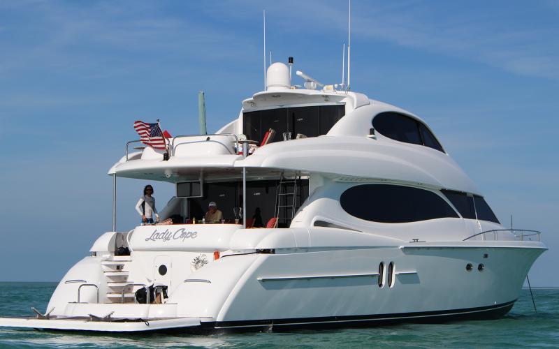 M/Y LADY COPE Charter Bahamas