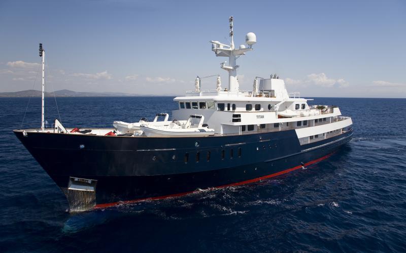 M/Y TITAN Charter Mediterranean