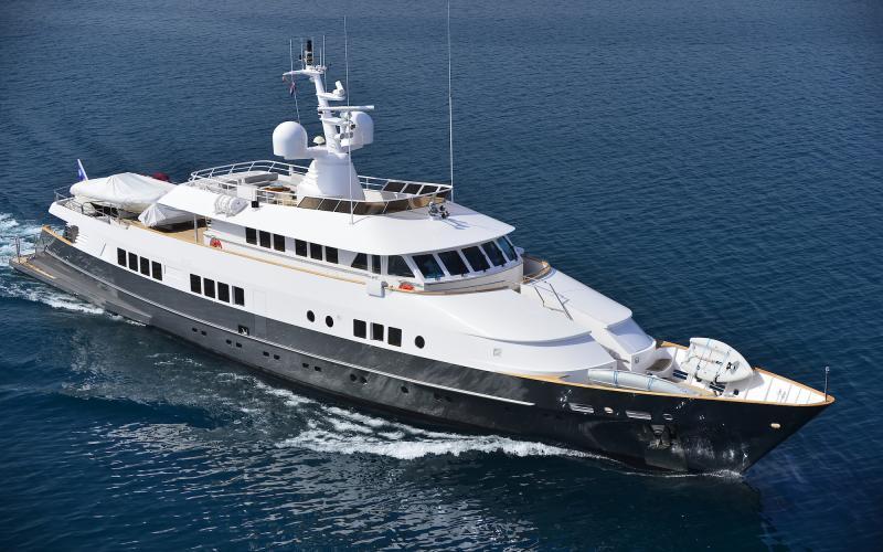 M/Y BERZINC Charter Mediterranean