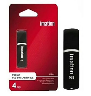 Imation USB 2.0 Ridge Flash Drive - 4GB