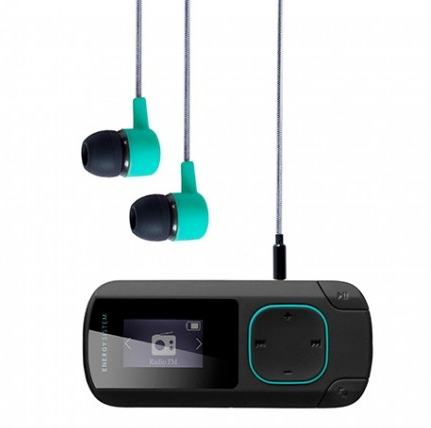 MP3 8GB ENERGY SISTEM CLIP BLUETOOTH MENTA