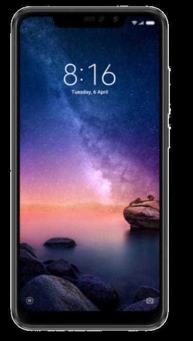 XIAOMI REDMI NOTE 6 PRO 64/4GB MATTE BLACK