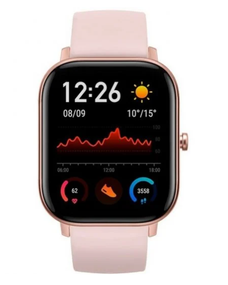 Amazfit GTS Reloj Smartwatch Obsidian Rosa