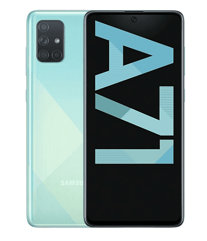 SAMSUNG GALAXY A71 128/6GB DS BLUE