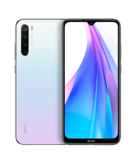 XIAOMI REDMI NOTE 8T 64/4GB WHITE PEARL
