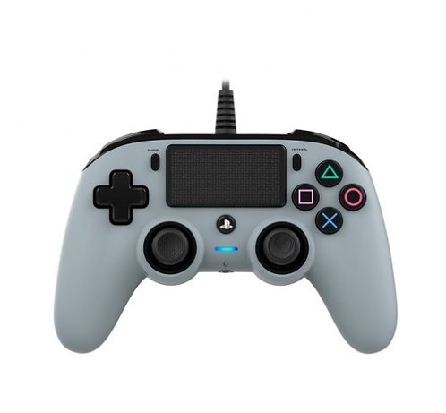 Nacon Compact Controller Wired para PS4 Gris