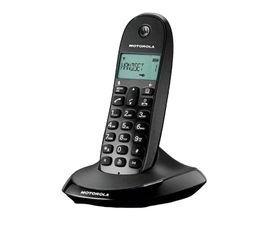 TELEFONO INALAMBRICO MOTOROLA C1001LB+ NEGRO