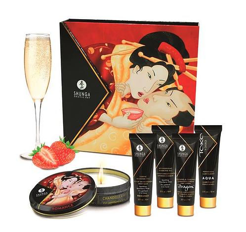SHUNGA Shunga Kit Secretos de una Geisha Vino Espumoso