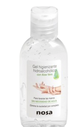 Pack 6 Gel Hidroalcoholico Higinizante de Manos 50ml