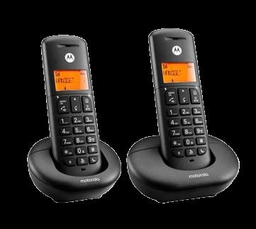 TELEFONO INALAMBRICO MOTOROLA E202 DUO