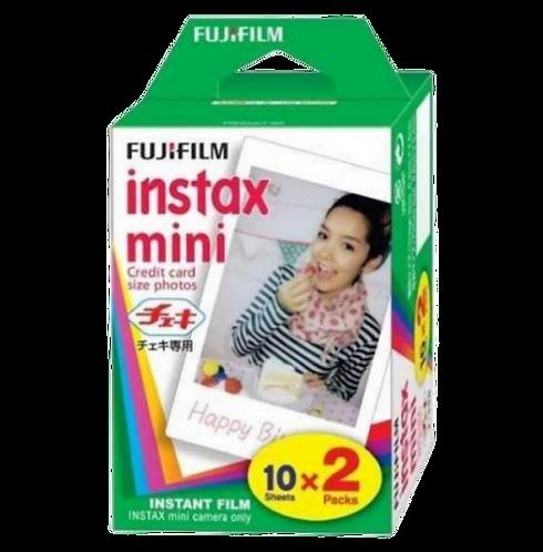 Fujifilm PELICULA INSTAX MINI GLOSSY PACK 20
