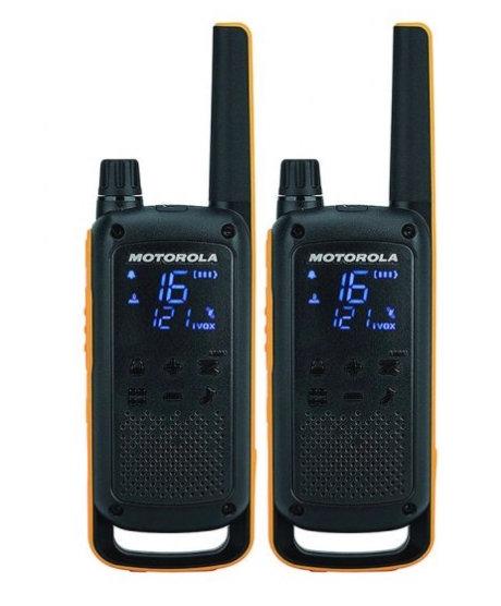 Motorola TLKR T82 Pack 2 Walkie Talkie
