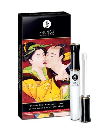 SHUNGA Shunga Gloss para Placer Oral Vino de Fresa