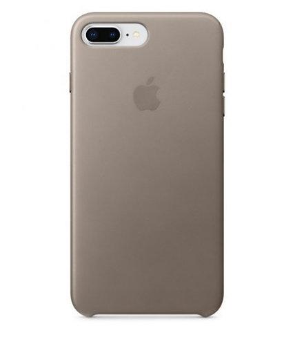 Apple Funda Piel Marrón Top para iPhone 8/7 Plus