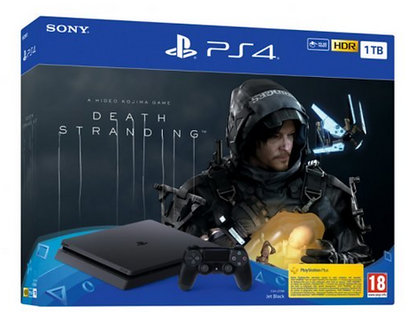 Pack Sony PlayStation 4 Slim 1TB + Death Stranding