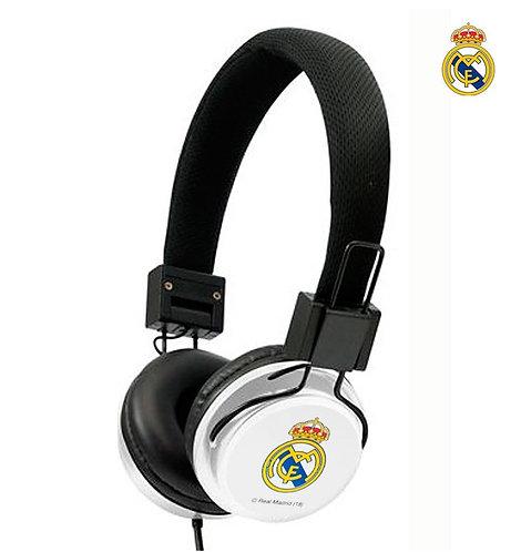 Auriculares Cascos Jack 3,5 mm Licencia Fútbol Real Madrid C.F.