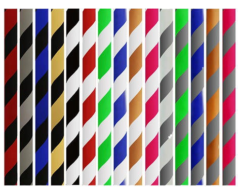Manguera Silicona Striped
