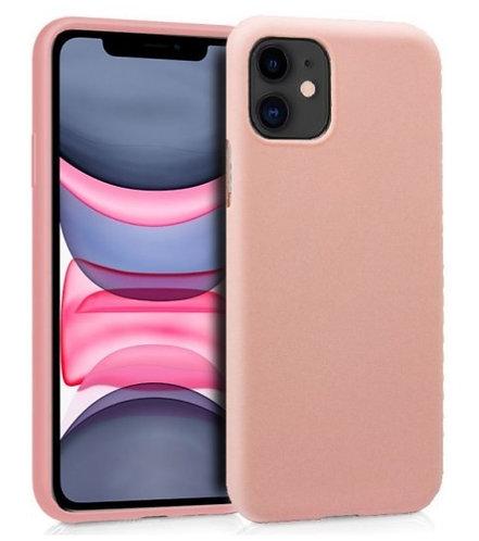 Funda Silicona Rosa  para iPhone 11