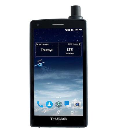 Telefono Satelite Thuraya X5 Touch Android con 60 minutos en llamada
