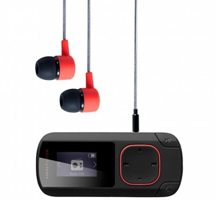 MP3 8GB ENERGY SISTEM CLIP NEGRO