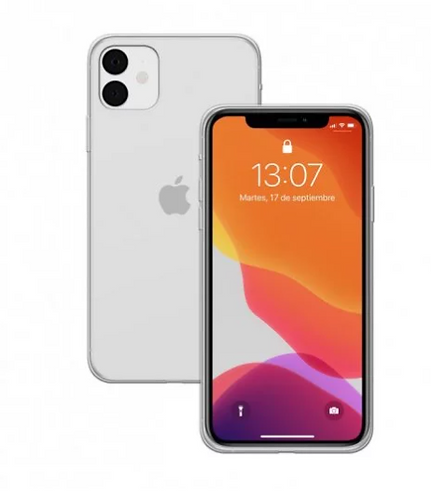 Funda Silicona Transparente para iPhone 11