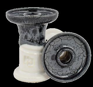 Cazoleta Hookahjhon 80feet80 Wet Ash over white