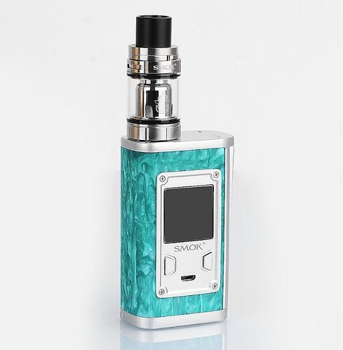 KIT Majesty Carbon Fiber 225W + TFV8 X-Baby de SMOK verde
