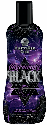 Australian Gold Charmingly Black 40X Dark Bronzing Tanning Lotion 8.5 oz