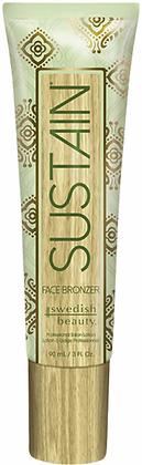 Swedish Beauty Sustain Face Bronzer Tanning Lotion 3 oz
