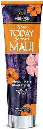 Hempz Here Today Gone to Maui Black Bronzer Tanning Lotion 9.5 oz