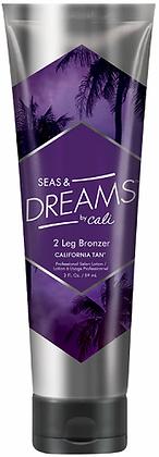 California Tan Seas & Dreams Step 2 Leg Bronzer Tanning Lotion 3 oz