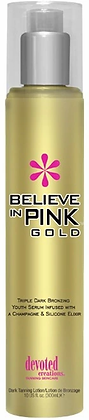 Devoted Creations Believe in Pink Gold Tanning Lotion