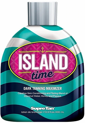 Supre Tan Island Time Dark Maximizer Tanning Lotion 13.5 oz