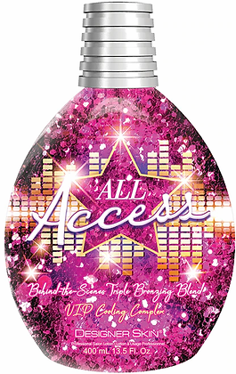 Designer Skin All Access Triple Bronzing Cooling Complex Tanning Lotion 13.5 oz