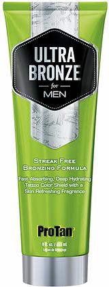 Pro Tan for Men Ultra Bronze Streak Free Bronzing Tanning Lotion 9 oz