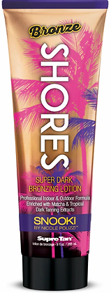 Supre Tan Snooki Bronze Shores Dark Bronzing Tanning Lotion 9 oz